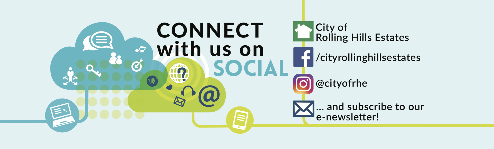 Connect With Us On Social