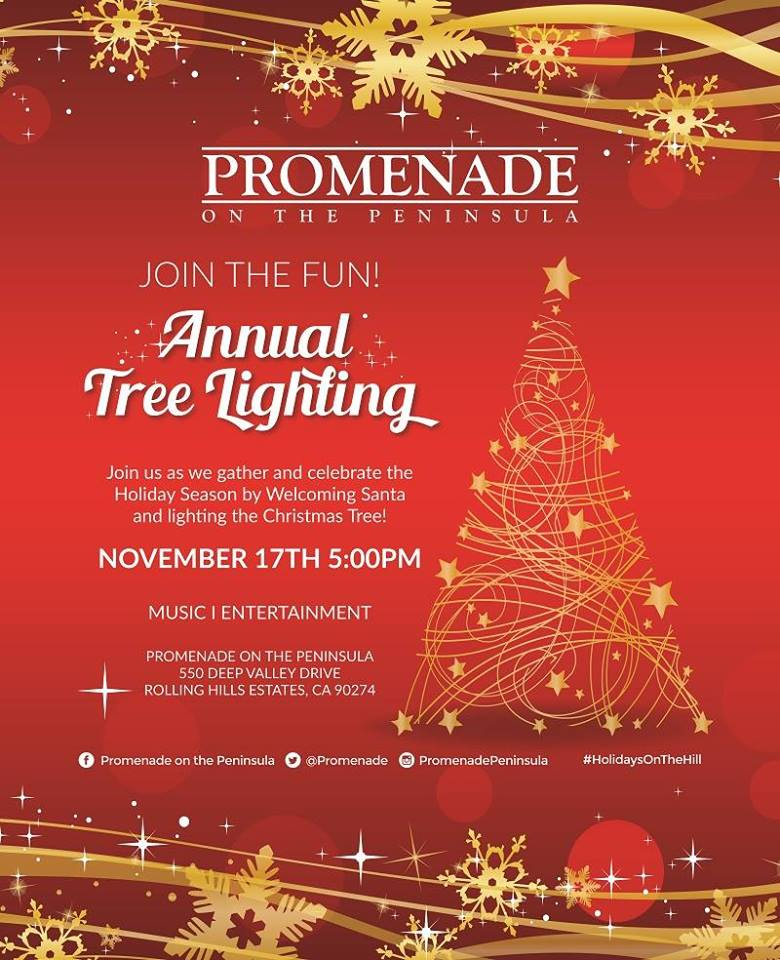 Promenade Tree Lighting
