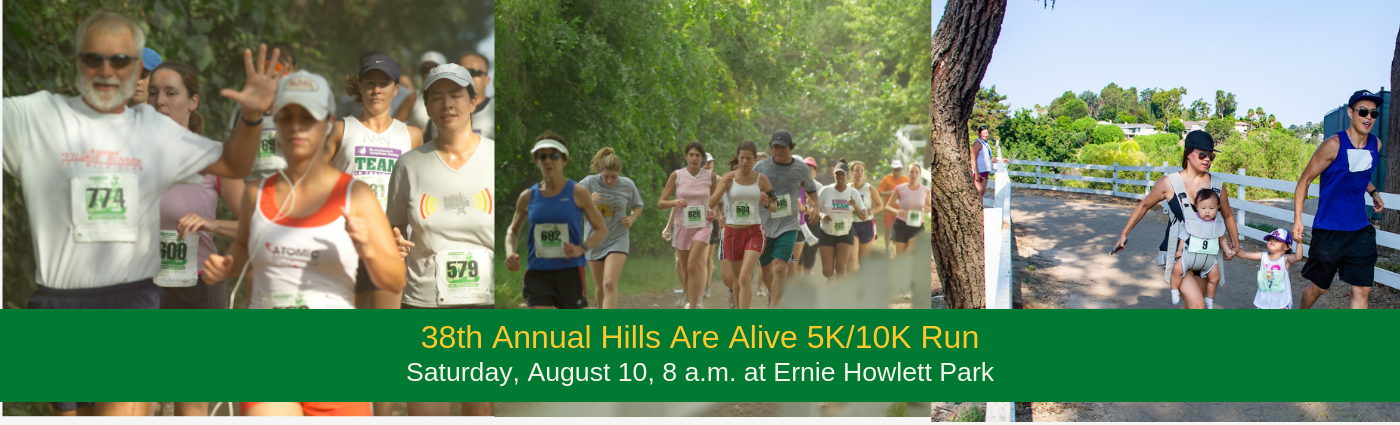 Hills Are Alive 2019 website banner