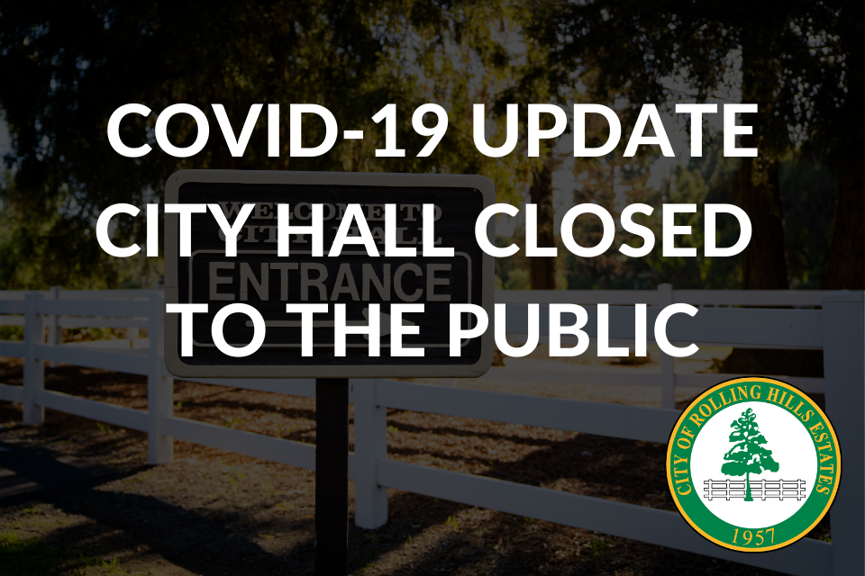 COVID-19 UPDATE CITY HALL CLOSED TO PUBLIC (1)